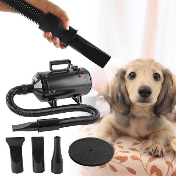 come funziona soffiatore per cani
